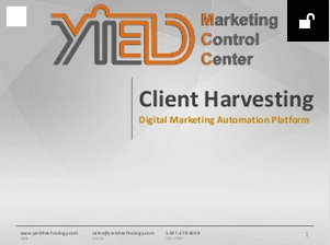 Yield Technology Marketing Automation Turn Around
